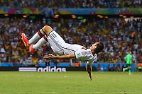 Miroslav Klose of Germany celebrates scoring his goal to make the score 2-2
