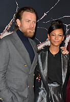 """LOS ANGELES, USA. October 30, 2019: Ewan McGregor & Kyliegh Curran  at the US premiere of """"Doctor Sleep"""" at the Regency Village Theatre.<br /> Picture: Paul Smith/Featureflash"""