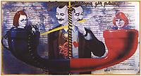 "Советский плакат ""Забытая мелодия для флейты. Режиссер Э.Рязанов"". Художник Ю.Боксер, 1987 год; / Soviet poster ""Forgotten melody for flute. Director E. Ryazanov"". Artist Y. Boxer, 1987;"