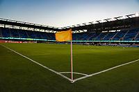 SAN JOSE, CA - SEPTEMBER 26: Corner flag prior to a Major League Soccer (MLS) match between the San Jose Earthquakes and the Philadelphia Union on September 26, 2019 at Avaya Stadium in San Jose, California.