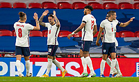 8th Occtober 2020, Wembley Stadium, London, England;  Englands Danny Ings 2nd celebrates after scoring during a friendly match between England and Wales in London