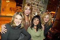 Montreal (Qc) CANADA - December 2007 file photo-<br /> -Helene Florent,<br /> -Anne Cassabonne,<br /> -GeneviZvre Rochette,<br /> -Brigitte Lafleur, at the<br /> launch of La galere (TV) DVD.<br /> <br /> <br /> <br /> Alliance Vivafilm, Productions RCB inc.,et Cirrus ont lancÈ mercredi 5 dÈc<br /> launch of La galere (TV) DVD,<br /> <br /> Alliance Vivafilm, Productions RCB inc.,et Cirrus ont lancÈ mercredi 5 dÈcembre le coffret DVD de la premiZre saison de la sÈrie ´ La GalZre C, diffusÈe sur les ondes de Radio-Canada. Ont participÈ ? ce lancement : lOauteure RenÈe-Claude Brazeau, la rÈalisatrice Sophie Lorain, et la plupart des comÈdiennes et comÈdiens dont Anne Casabonne, HÈlZne Florent, Brigitte Lafleur et GeneviZvre Rochette.<br /> photo (c) Pierre Roussel- Images Distribution