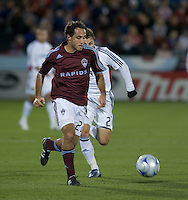 Colorado midfielder Nick LaBrocca. Real Salt Lake earned a tied versus the Colorado Rapids securing a place in the postseason. Dick's Sporting Goods Park, Denver, Colorado, October, 25, 2008. Photo by Trent Davol/isiphotos.com