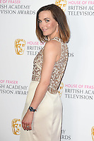 Victoria Pendelton<br /> in the winners room at the 2016 BAFTA TV Awards, Royal Festival Hall, London<br /> <br /> <br /> ©Ash Knotek  D3115 8/05/2016