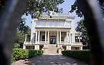 """The Garden District of New Orleans, which is classified as  National Historic Landmark, is known for its historic southern mansions.  In fact, this collection of mansions may be the best preserved in the United States.  Originally the post-civil war mansion of a prominent Louisiana sugar planter, the mansion at 2343 Prytania Street is now the Louise S. McGee School.  Designed by Architect James Freret in 1872, the building reflects the influence of the """"Ecole des Beaux Arts"""" in France."""