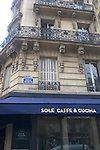 Exterior, Sole Caffee Restaurant, Paris, France, Europe