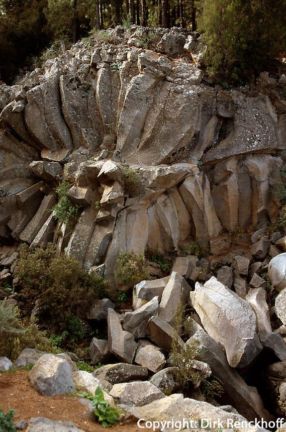 Spanien, Kanarische Inseln, Teneriffa, Teide-Park, Pietra de la Rosa