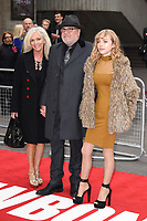 "Elaine, Ray and Ellie Winstone<br /> at the ""Jawbone"" premiere held at the bfi, South Bank, London. <br /> <br /> <br /> ©Ash Knotek  D3263  08/05/2017"