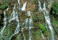 Waterfall Almecegas 1, Chapada dos Veadeiros, Goias, Brazil