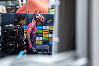 RIgoberto Uran (COL/EF Education First) post race<br /> <br /> Stage 15: Limoux to Foix Prat d'Albis (185km)<br /> 106th Tour de France 2019 (2.UWT)<br /> <br /> ©kramon