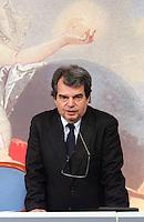 RENATO BRUNETTA<br /> Roma 01/03/2010 Conferenza stampa al termine del Consiglio dei Ministri.<br /> Press conference at the end of the Cabinet.<br /> Photo Samantha Zucchi Insidefoto