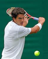 21-06-10, Tennis, England, Wimbledon, Jesse Huat Galung verliest in de eerste ronde