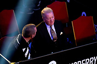 Frank Warren looks on during a Boxing Show at York Hall on 24th April 2021