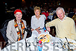 Marion Collins (Ballymac), Marie and Michael McNamara (Tralee) enjoying the Tralee Branch of the Irish Wheelchair Associations Christmas Party in the Meadowlands Hotel on Sunday