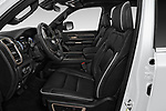 Front seat view of a 2019 Ram Ram 1500 Pickup Limited Crew Cab 4 Door Pick Up front seat car photos