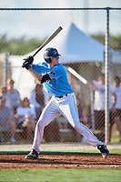 AJ Vukovich during the WWBA World Championship at the Roger Dean Complex on October 19, 2018 in Jupiter, Florida.  AJ Vukovich is a third baseman from Mukwonago, Wisconsin who attends East Troy High School and is committed to Louisville.  (Mike Janes/Four Seam Images)