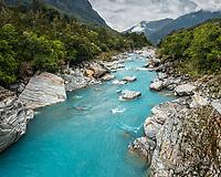 Scenic Copland River, Westland National Park, West Coast, World Heritage Area, South Westland, New Zealand