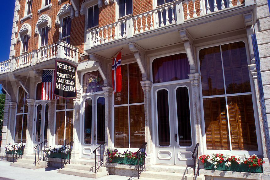 Iowa, Decorah, Vesterheim Norwegian-American Museum in Decorah.