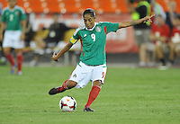 Maribel Dominguez (9) of Mexico.  The USWNT defeated Mexico 7-0 during an international friendly, at RFK Stadium, Tuesday September 3 , 2013.