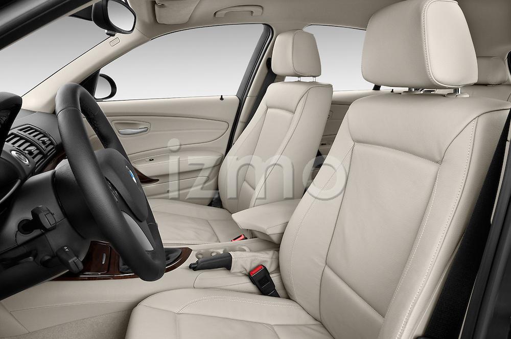Front seat view of a 2004 - 2011 BMW 1-Series 118i 5 Door Hatchback 2WD.