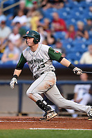 Fort Wayne TinCaps outfielder Nick Schulz (33) at bat during a game against the Lake County Captains on August 21, 2014 at Classic Park in Eastlake, Ohio.  Lake County defeated Fort Wayne 7-8.  (Mike Janes/Four Seam Images)
