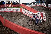 Katie Compton (USA/KFC Racing p/b Trek/Panache)<br /> <br /> Jaarmarktcross Niel 2019 (BEL)<br /> <br /> ©kramon