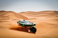 5th January 2021; Dakar Rally stage 3; 316 Seaidan Yasir (sau), Kuzmich Alexey (rus), Century, SRT Racing, Auto, action during the 3rd stage of the Dakar 2021 between Wadi Al Dawasir and Wadi Al Dawasir, in Saudi Arabia on January 5, 2021