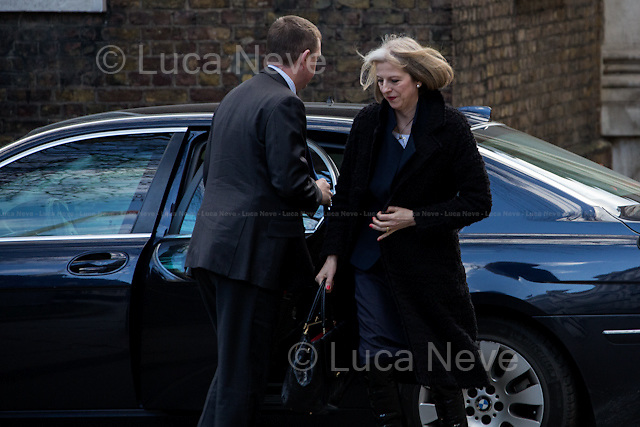 Theresa May (Home Secretary).<br />