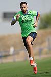 Getafe CF's Dario Poveda during training session. August 26,2021.(ALTERPHOTOS/Acero)