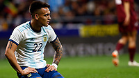 Argentina's Lautaro Martinez  during the International Friendly match on 22th March, 2019 in Madrid, Spain. (ALTERPHOTOS/Manu R.B.)<br /> Madrid 22-03-2019 <br /> Football Friendly Match <br /> Argentina Vs Venezuela <br /> foto Alterphotos/Insidefoto <br /> ITALY ONLY