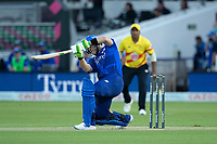 Josh Inglis of London Spirit drives through the off side during London Spirit Men vs Trent Rockets Men, The Hundred Cricket at Lord's Cricket Ground on 29th July 2021