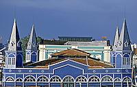 Mercado Ver o Peso em Belém. Pará. 2001. Foto de Juca Martins.