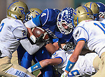 Carson's Asa Carter runs against Reed during the NIAA D-1 Northern Regional title game at Bishop Manogue High School in Reno, Nev., on Saturday, Nov. 29, 2014.<br /> Photo by Cathleen Allison