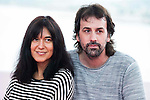 """The directors of the film, Isa Campo and Isaki Lacuesta during pose to the media during the presentation of the film """"La Propella Pell"""" at Festival de Cine Fantastico de Sitges in Barcelona. October 08, Spain. 2016. (ALTERPHOTOS/BorjaB.Hojas)"""
