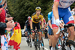 Wout Van Aert (BEL) Team Jumbo-Visma climbs Col de Marie Blanque during Stage 9 of Tour de France 2020, running 153km from Pau to Laruns, France. 6th September 2020. <br /> Picture: Colin Flockton   Cyclefile<br /> All photos usage must carry mandatory copyright credit (© Cyclefile   Colin Flockton)