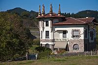 Europe/Espagne/Pays Basque/Guipuscoa/Goierri/Idiazabal: Maison du VIllage