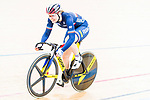 Laurie Berthon of France competes on the Women's Madison 30km Final during the 2017 UCI Track Cycling World Championships on 15 April 2017, in Hong Kong Velodrome, Hong Kong, China. Photo by Marcio Rodrigo Machado / Power Sport Images