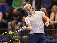 Rotterdam, Netherlands, December 18, 2016, Topsportcentrum, Lotto NK Tennis, Botec van de Zandschulp (NED)<br /> Photo: Tennisimages/Henk Koster
