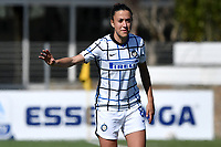 Martina Brustia of FC Internazionale reacts during the Women Serie A football match between AS Roma and FC Internazionale at stadio Agostino Di Bartolomei, Roma, March 20th, 2021. AS Roma won 4-3 over FC Internazionale. Photo Andrea Staccioli / Insidefoto