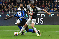 Romelu Lukaku of FC Internazionale , Leonardo Bonucci of Juventus <br /> Milano 6-10-2019 Stadio Giuseppe Meazza <br /> Football Serie A 2019/2020 <br /> FC Internazionale - Juventus FC <br /> Photo Andrea Staccioli / Insidefoto