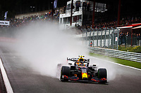 28th August 2021; Spa Francorchamps, Stavelot, Belgium: FIA F1 Grand Prix of Belgium, qualifying sessions;   11 PEREZ Sergio mex, Red Bull Racing Honda RB16B