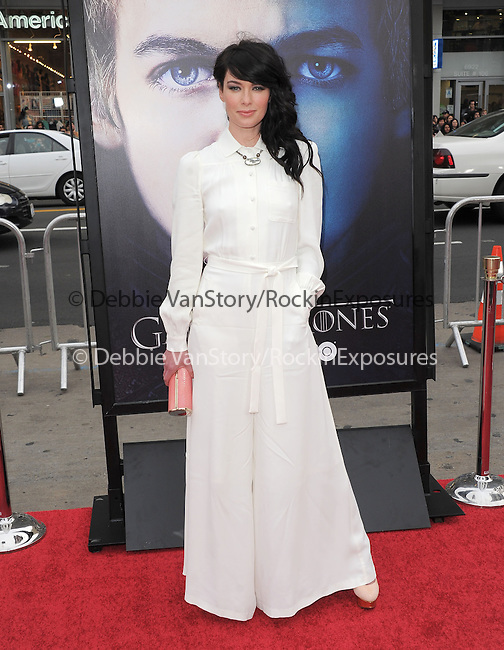 Lena Headey at HBO's L.A. Premiere of Game of Thrones  held at The Grauman's Chinese Theater in Hollywood, California on March 18,2013                                                                   Copyright 2013 Hollywood Press Agency
