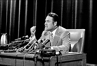April 1973 File Photo (exact date unknown) - Jerome Choquette, Minister of Justice, Quebec