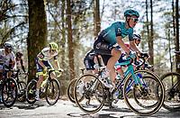 Stefan de Bod (ZAF/Astana - Premier Tech)<br /> <br /> 107th Liège-Bastogne-Liège 2021 (1.UWT)<br /> 1 day race from Liège to Liège (259km)<br /> <br /> ©kramon