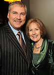 Joe and Kay Sleeth at the Heart Ball kickoff party at the Hotel ZaZa Wednesday Jan. 13,2010.(Dave Rossman/For the Chronicle)