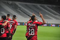 Curitiba (PR), 09/06/2021 - Athletico PR - Avai- Vitinho faz o primeiro para o Athletico PR - Partida entre Athletico PR e Avai válida pela 3ª fase do Copa do Brasil no estádio da arena da Baixada em Curitiba nesta quarta-feira (09)