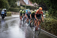 Roompot Charles rider leading the front group<br /> <br /> 99th Brussels Cycling Classic 2019<br /> One Day Race: Brussels > Brussels 189.4km<br /> <br /> ©kramon
