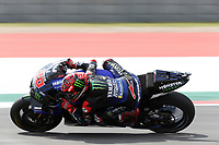 3rd October 2021; Austin, Texas, USA; Fabio Quartararo (20) - (FRA)  on the 11th turn during the MotoGP Red Bull Grand Prix of the Americas on October 3, 2021 at the Circuit of the Americas