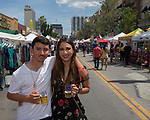Eli and Beth during the 24th Annual Great Eldorado Brews and Blues Festival in Reno, Nevada on Saturday, June 15, 2019.