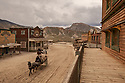 Spain - Andalusia - Stuntmen performing a Western movie scene at Oasys Mini Hollywood.